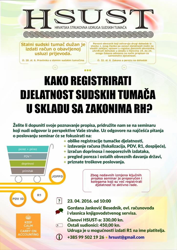 Kako registrirati